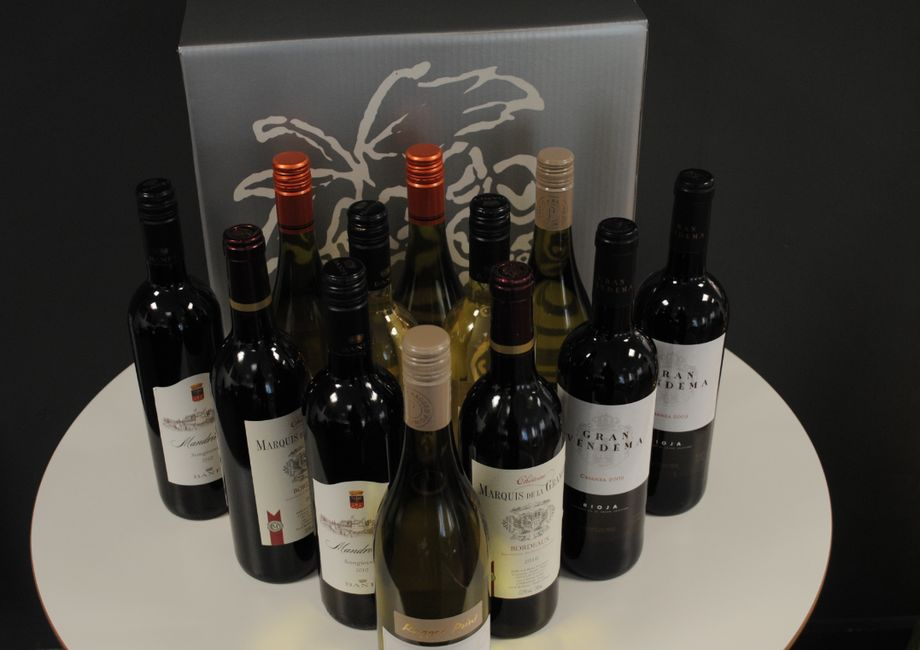 Intercounty Braintree Receive A Lovely Selection Of Wine From A Happy Buyer