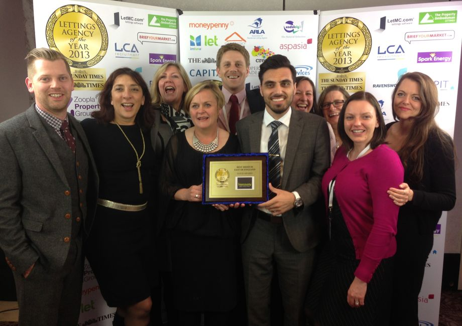 Intercounty Is Awarded Gold