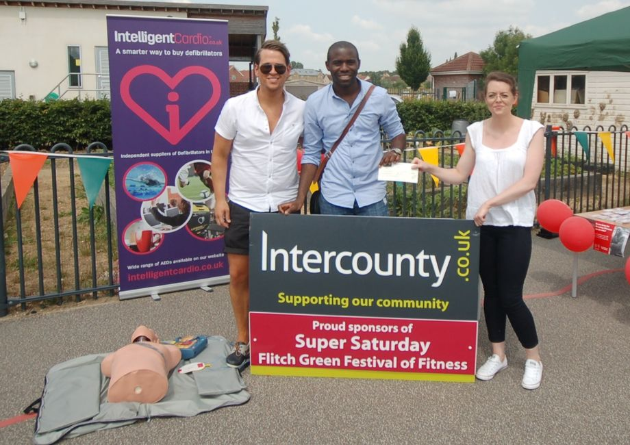 Intercounty Sponsors The Flitch Green Festival Of Fitness