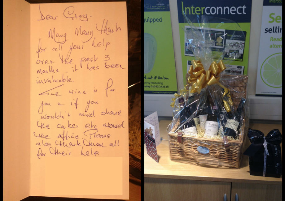 Fantastic Feedback From A Very Happy Client