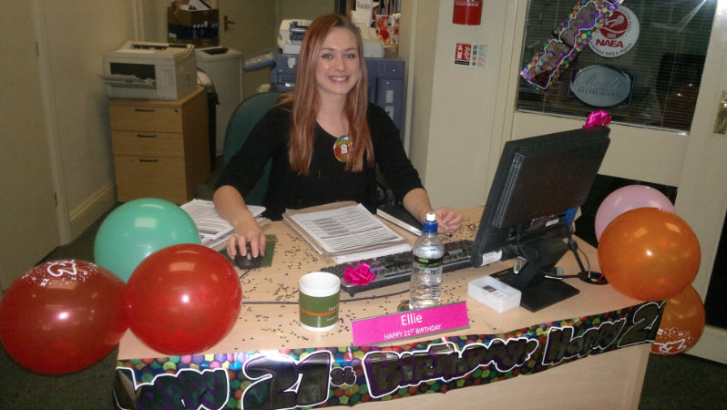 Birthday Celebrations At Intercounty West Bridgford....