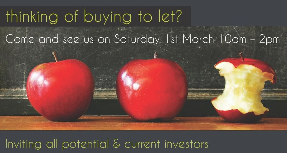 Investor Days - Come And See Us On 1St March 10Am - 2Pm