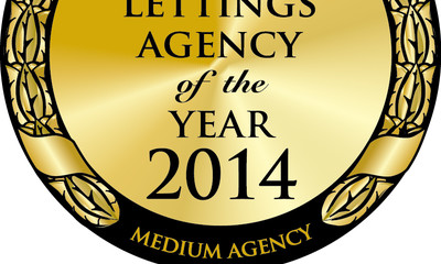 Gold At The Lettings Agency Of The Year Awards 2014