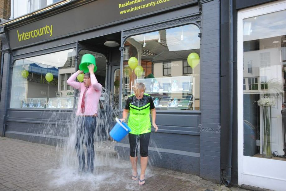 Bishop's Stortford Brave The Ice Bucket Challenge