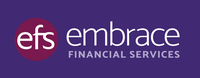 Embrace Logo Colour Purple Padding