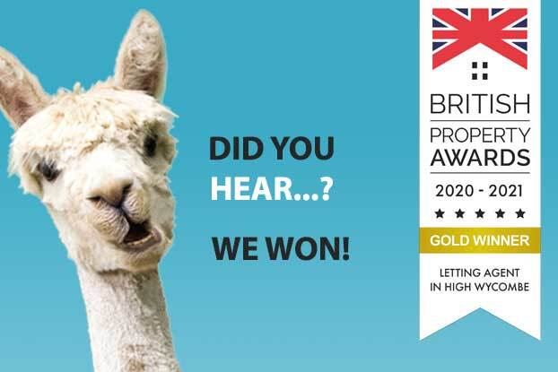 High Wycombe wins  The British Property Lettings Award