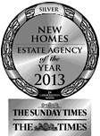 Estate agency of the year award silver 2013 small