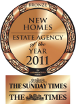 Estate agency of the year award bronze 2011 small