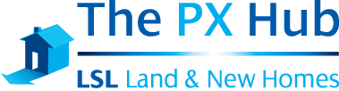 The PX Hub Logo