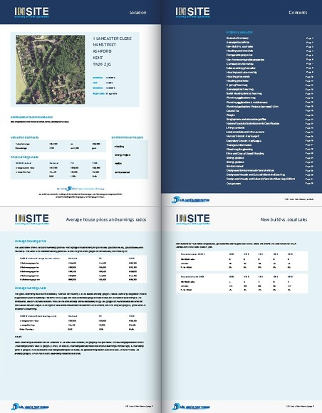 INSITE Reports - Giving you the right knowledge to build upon