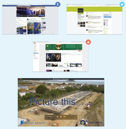 Social media and video