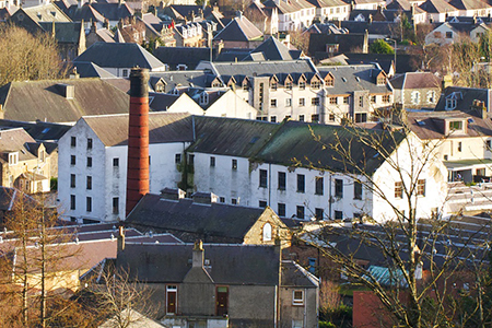 New Homes - Caerlee Mill, Innerleithen in Scotland