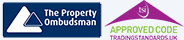 The Property Ombudsman and TSI logos combined