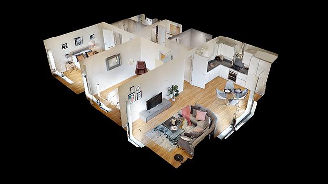 Virtual floorplans