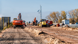 West Midlands construction strengthens