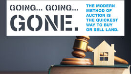 Sell your land at auction