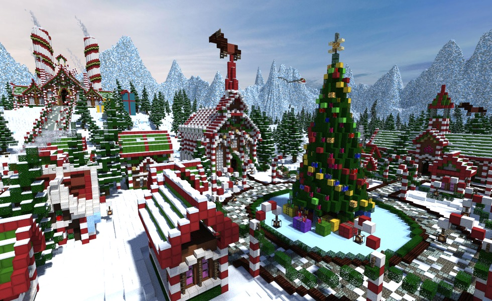 Building Masterpieces of Christmas Past
