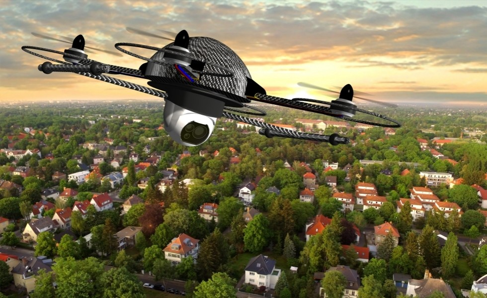 How drones can help market new build property developments?