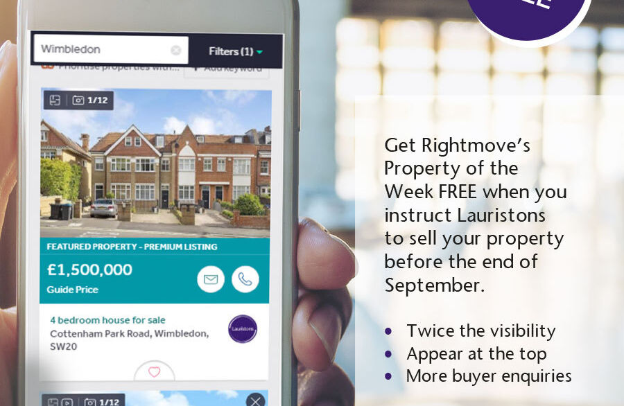 The market is moving - be seen and sell fast with Lauristons