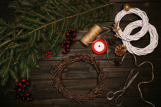 Deck the halls with festive floristry
