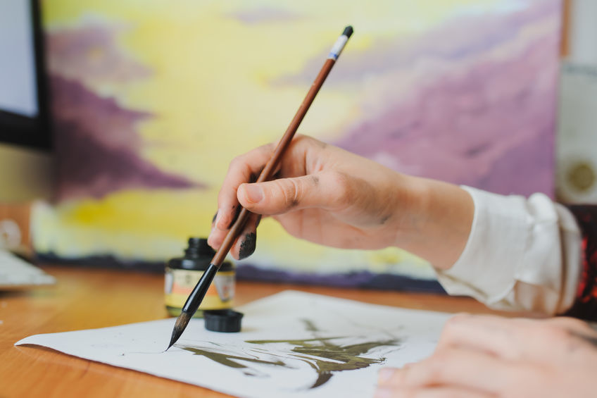 Chinese brush painting workshop