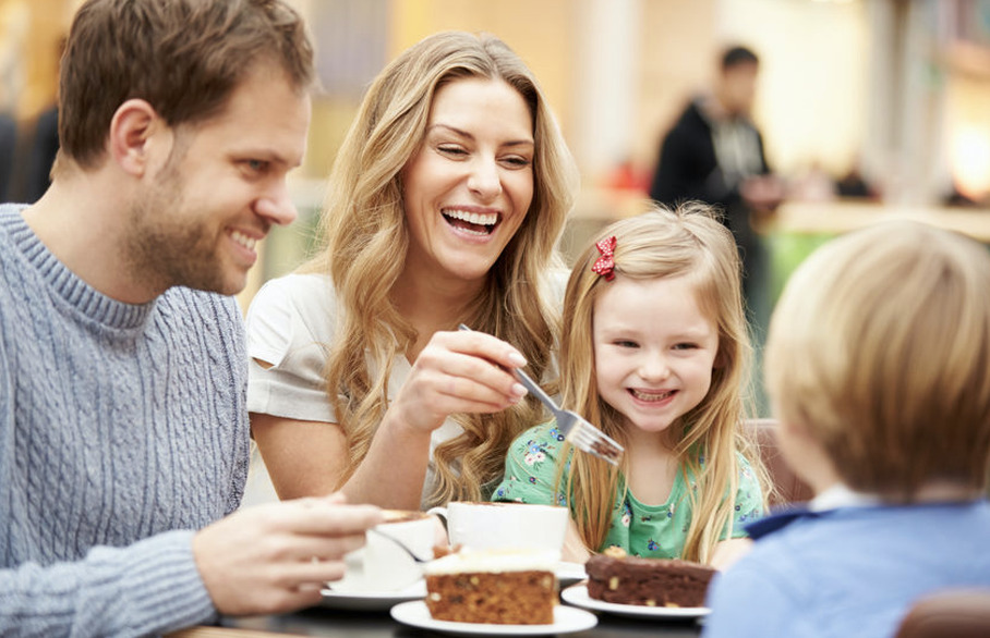 Family-friendly cafes