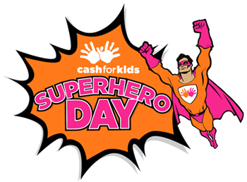 Reeds Rains Cash for Kids Superhero Day 2017