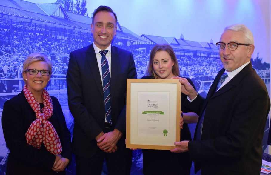 Reeds Rains Pontefract wins the Regeneration Award