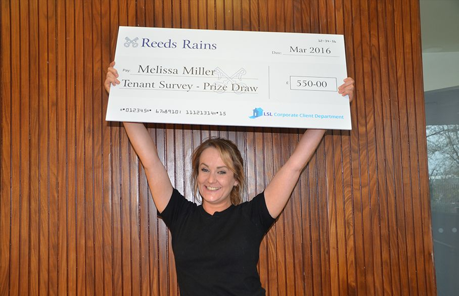Reeds Rains announces winner of prize draw
