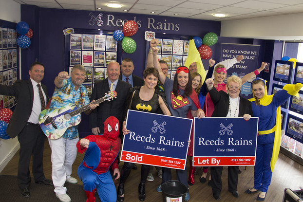 Reeds Rains Superhero Day Fun