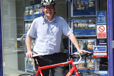 Reeds Rains Clevedon geared up for National Bike Week