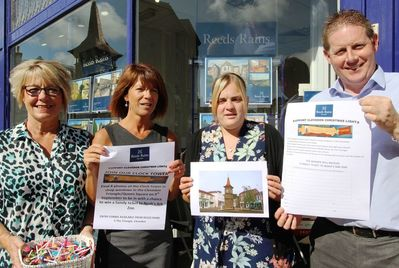 Clevedon branch host a treasure hunt
