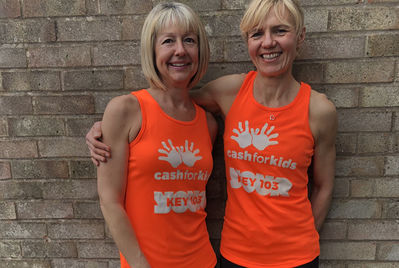 Fiona competes in London Marathon for Cash for Kids