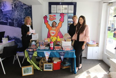 Superheroes in Haxby raise over £100 for Cash for Kids
