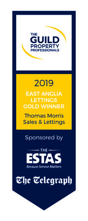 Guild Award Logo 2019 East Anglia GOLD LETTINGS Thomas Morris 01