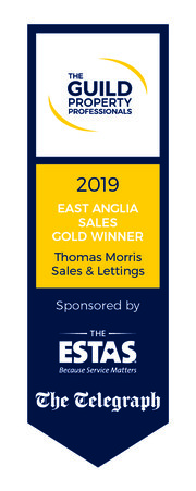 Guild Award Logo 2019 East Anglia GOLD SALES Thomas Morris 01