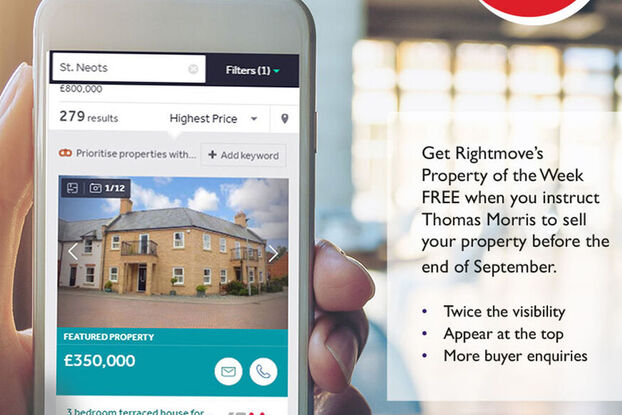 FREE Rightmove Featured property when you instruct us to sell your property