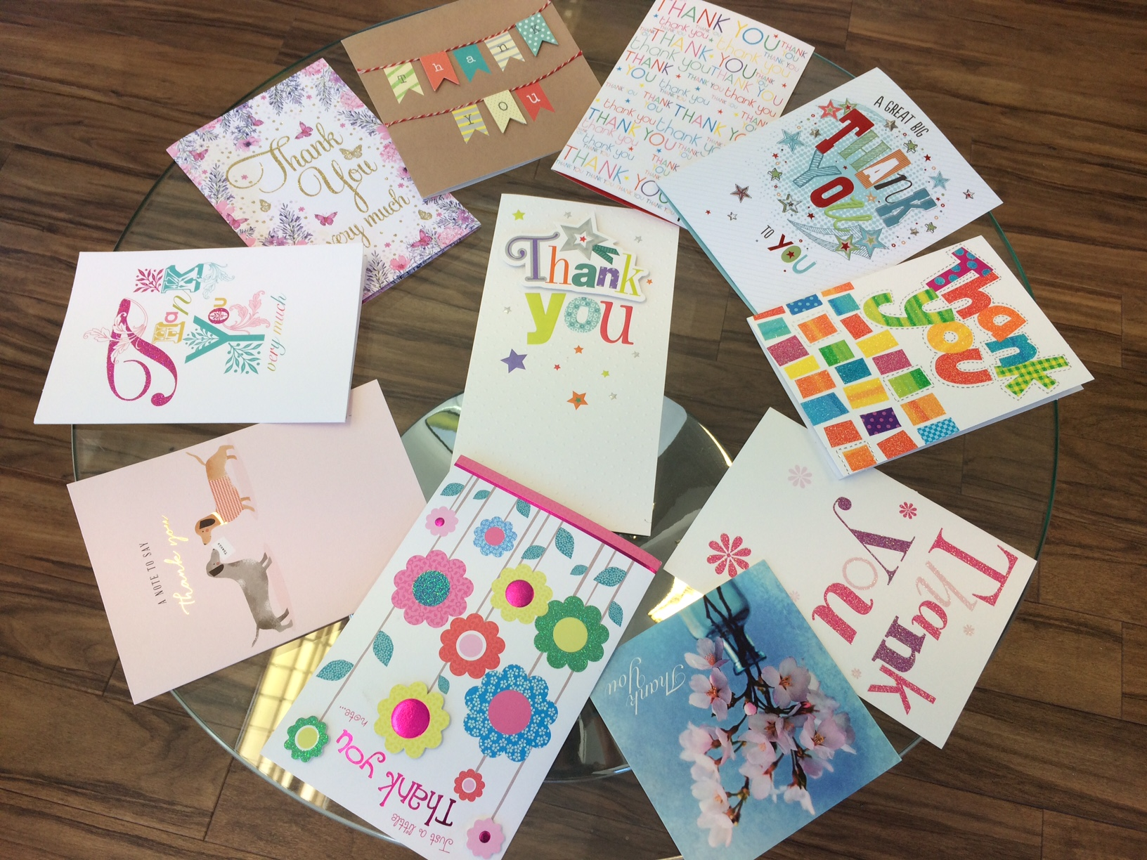 Bearsted Thank you cards